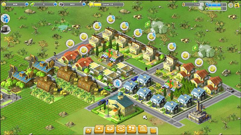 rising cities spielen